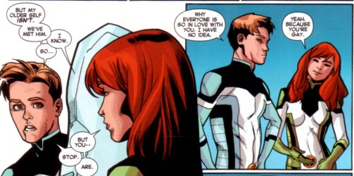 X-Men : Iceberg sera bien gay !