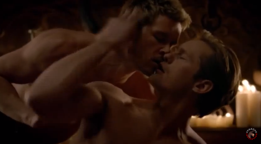 Bisou gay : un rêve érotique dans True Blood !