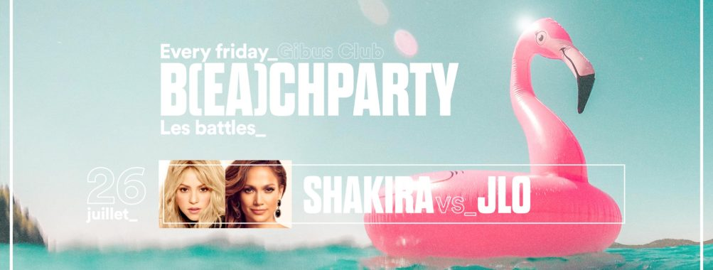 Beach Party – Shakira vs JLo